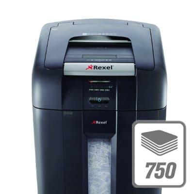 Уничтожитель бумаг 2103750EU SHRo Rexel Auto+ 750X Шредер - фото Технология, получившая награду