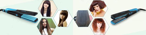Выпрямитель для волос с пластинами для гофрирования SHINON SH-8089T - фото shinonsh-8089t_.jpg