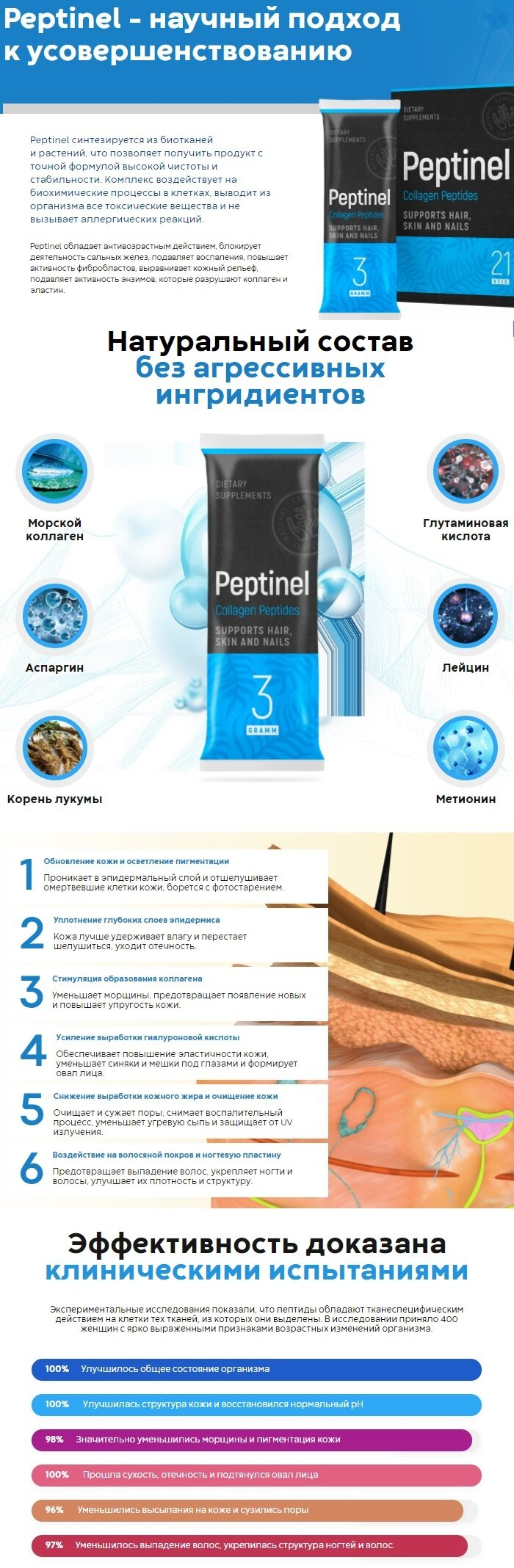 Пептидный комплекс Peptinel