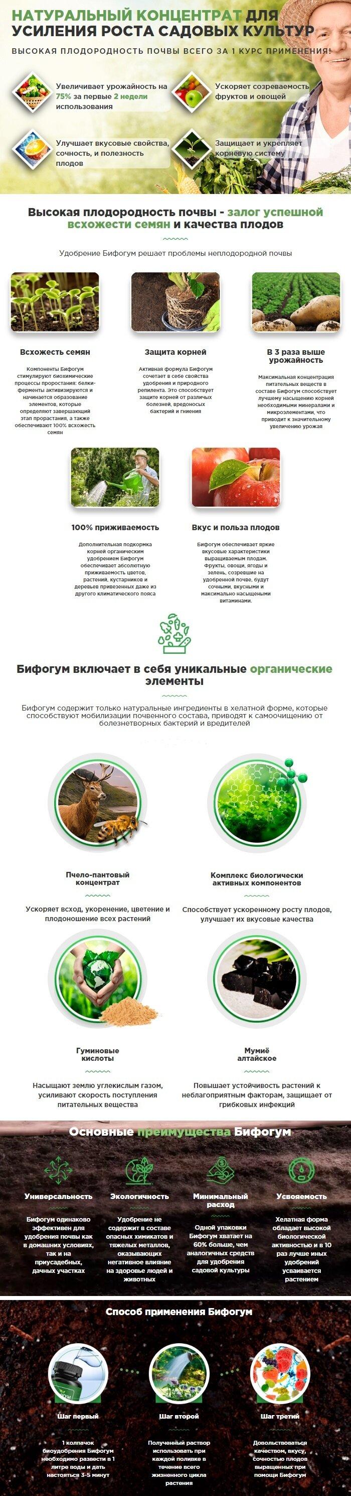 Органическое удобрение Бифогум 160 мл - фото Органическое удобрение Бифогум