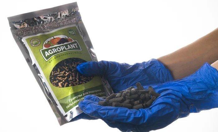 AGROPLANT биоудобрение комплексное гранулированное - фото Агроплант