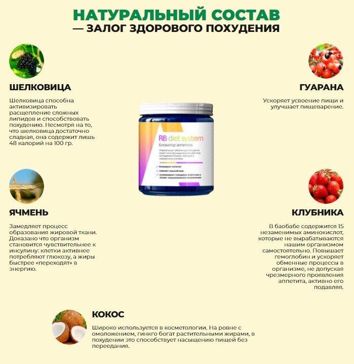 состав RB Diet System