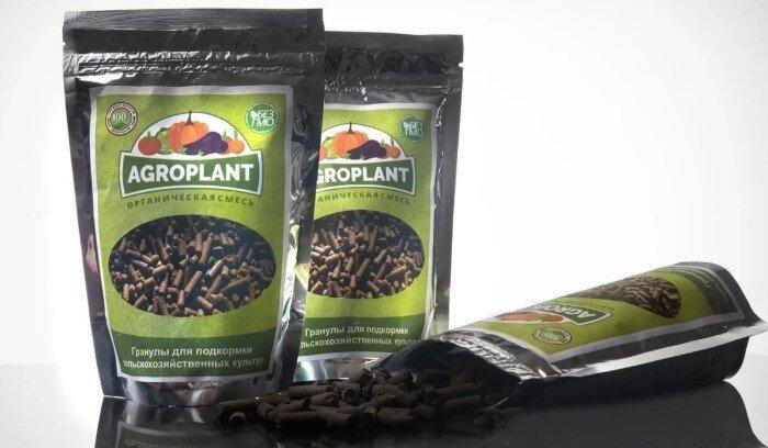 AGROPLANT биоудобрение комплексное гранулированное - фото биоудобрение агроплант