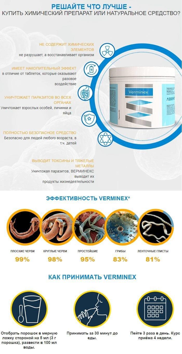 Верминекс купить в Казахстане