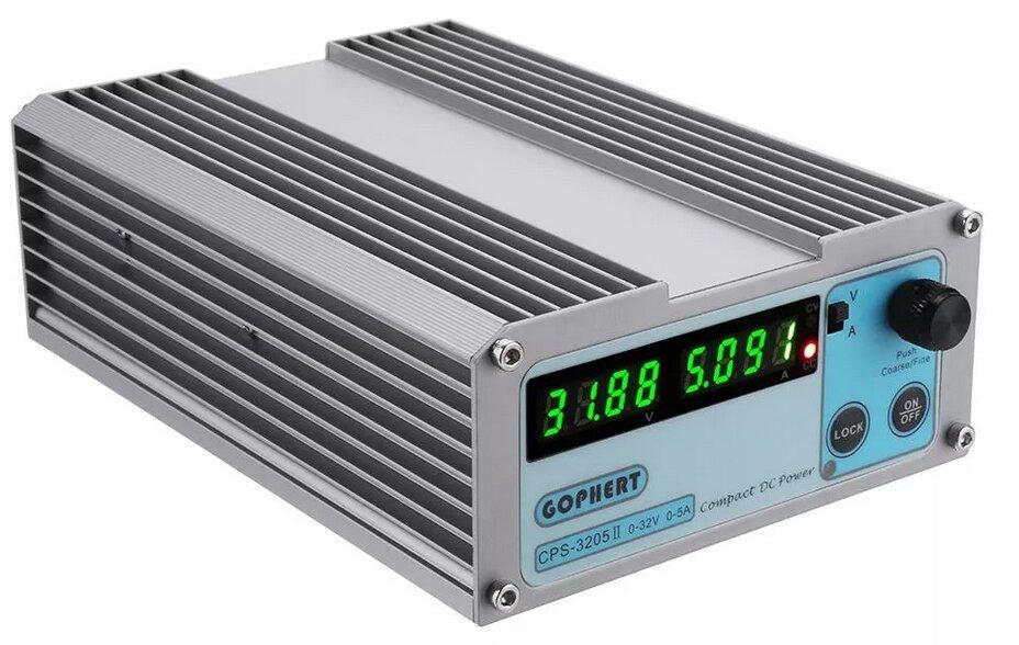 Лабораторный блок питания Gophert 3205