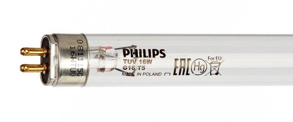 Лампа бактерицидная Philips TUV 16W T5 G5