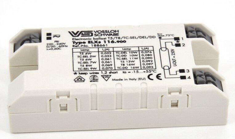 ЭПРА для люминесцентных ламп Vossloh-Schwabe ELXs 116.900