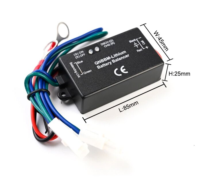 Балансир заряда свинцово кислотных аккумуляторных батарей