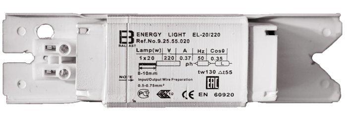 Дроссель электромагнитный 20 Ватт