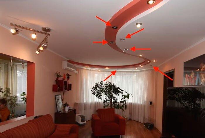 Минусы точечного освещения в квартире - фото pic_64bc3efaaf7313d4f89e7f8a0c9c7976_1920x9000_1.jpg