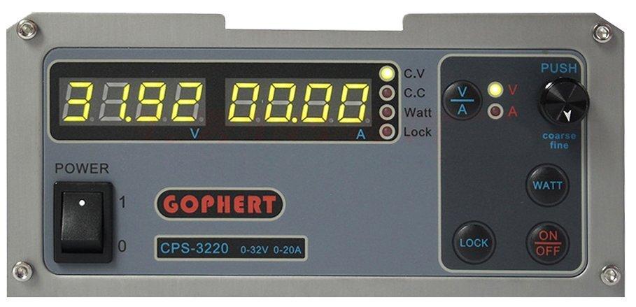 Лабораторный блок питания Gophert 3220