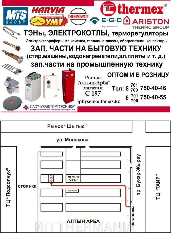 ТЭН для водонагревателя Thermex, тип-RF M4 2000W (горизонтальный) - фото pic_a6ceacf1fc04278_700x3000_1.jpg