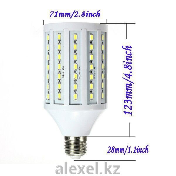 Светодиодная лампа-кукуруза 30W E27 теплая - фото 1