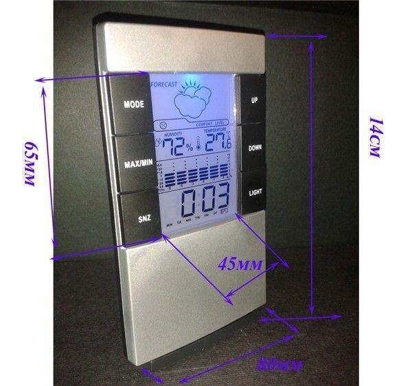 Домашняя метеостанция с подсветкой МТС-200 - фото 1