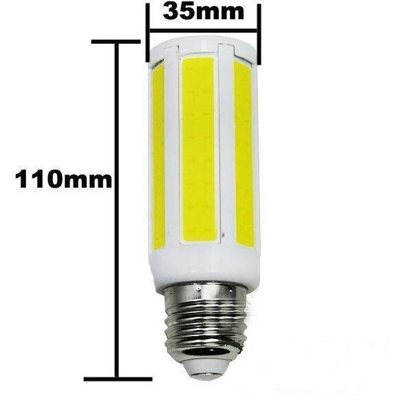 Светодиодная лампа COB-кукуруза 9W E27 белая - фото 1