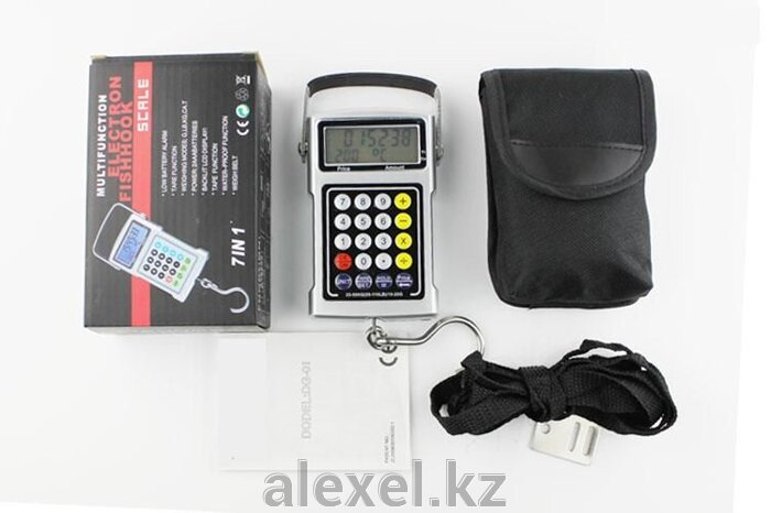Многофункциональные портативные весы с калькулятором WH-A11 до 50 кг - фото 2