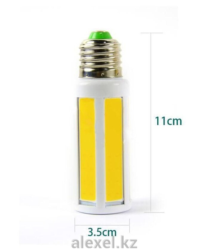 Светодиодная лампа COB-кукуруза 9W E27 теплая - фото 1