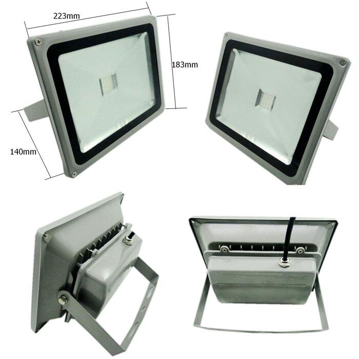 Светодиодный прожектор 50W белого света - фото 1