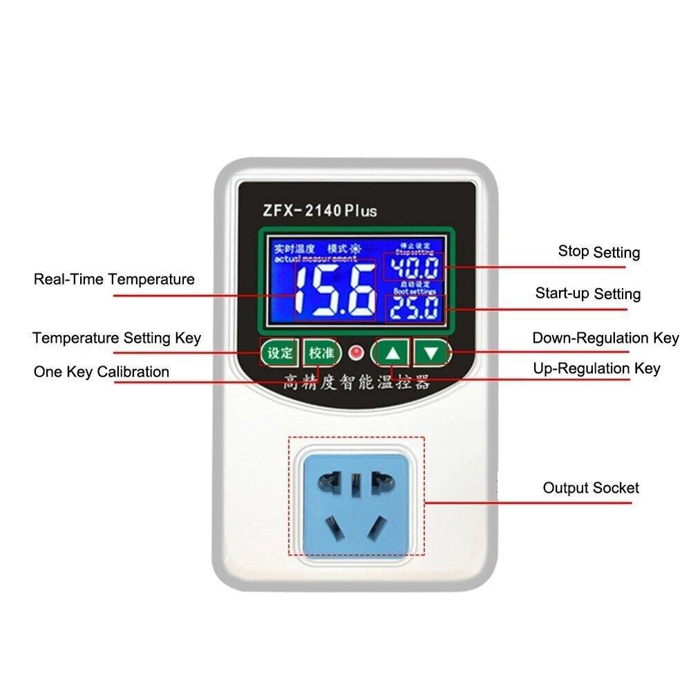 терморегулятор от -50 до +110