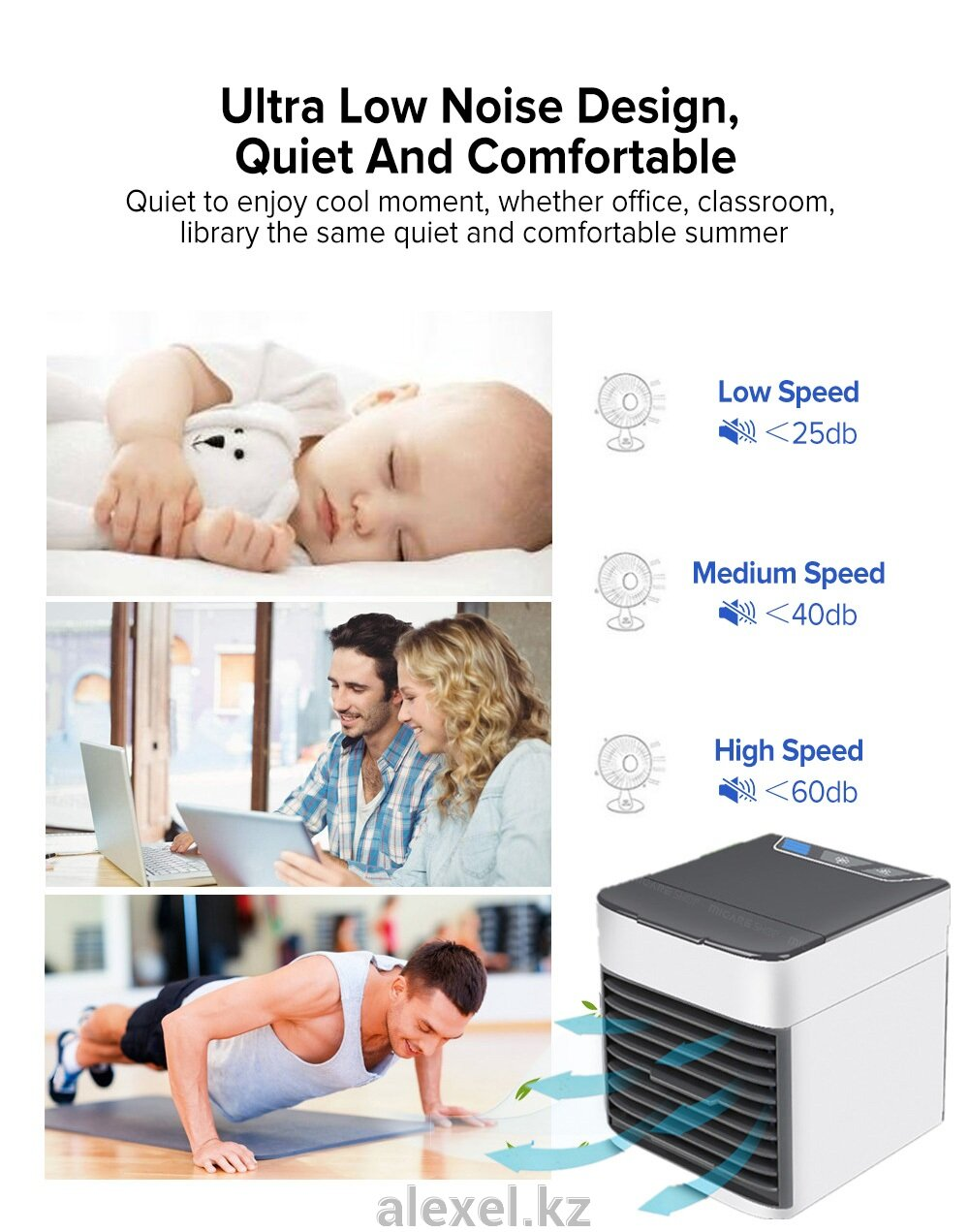 Охладитель воздуха кондиционер USB Arctic Air Ultra 2X - фото pic_5c190857e0fc9b03fe74a8dc5d8ddb68_1920x9000_1.jpg