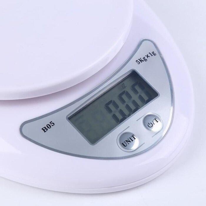 Цифровые кухонные весы 5 кг - фото кухонные электронные весы 5 кг