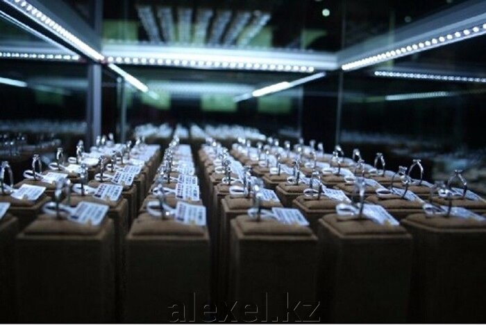 Светодиодная полоса 7020 с V алюминиевым профилем 50 см - фото 2