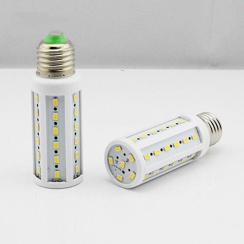 Светодиодная лампа-кукуруза 9W E27 белая - фото 1