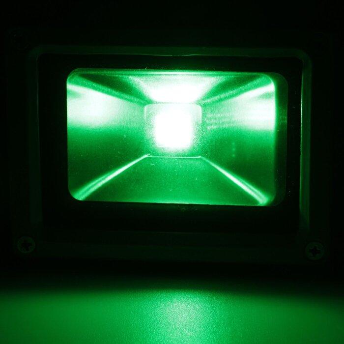 Светодиодный цветной прожектор софит RGB 30Вт - фото 3