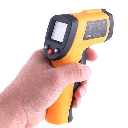 Пирометр, бесконтактный термометр GM380 - фото 1