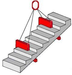 Захват для подъёма лестничных маршей - фото 1