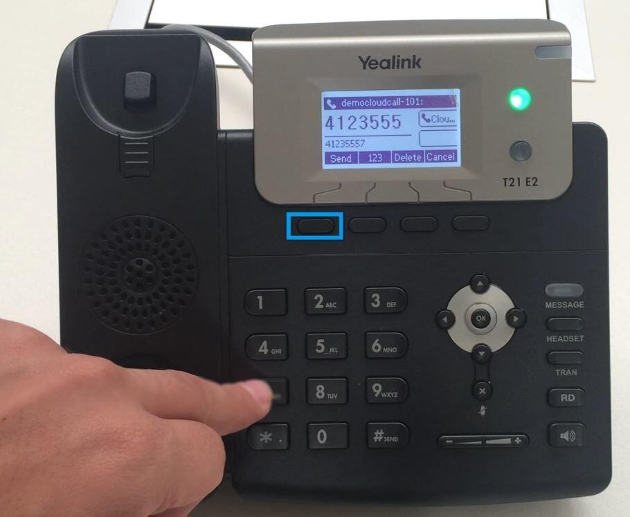 IP телефон Yealink SIP-T21 E2 2 линии