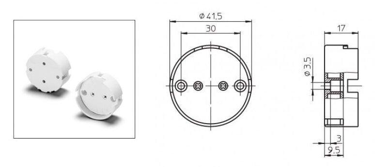 Патрон накидной G13 для ламп T12 (38 мм) - фото pic_303da89f5c59b07_1920x9000_1.jpg